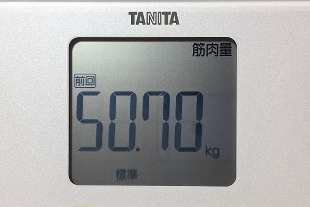 タニタ体重計、筋肉量
