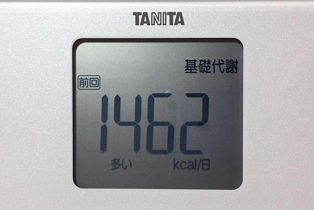 タニタ体重計、基礎代謝