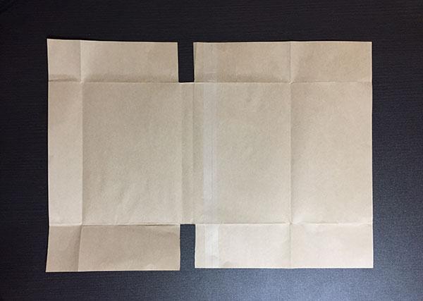 クラフト紙 ブックカバー 自作