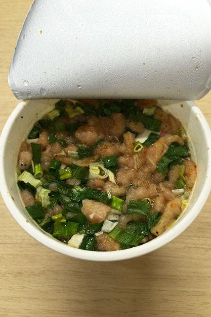 倉庫 バイト カップ麺